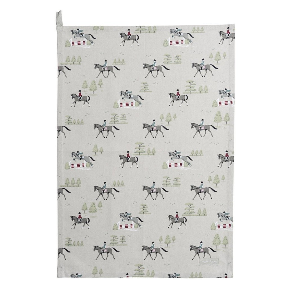 Trot On Tea Towel