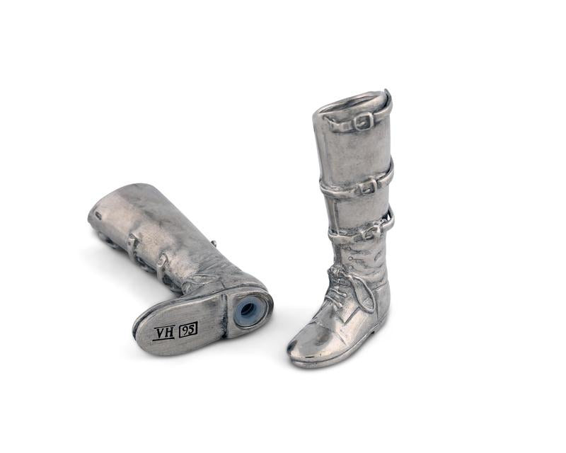 Equestrian Boot Salt and Pepper Shakers