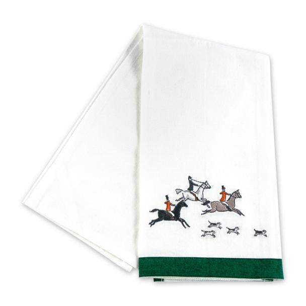 Hunt Equestrian Tea Towel- Set of 2