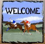 Polo Slate Welcome Tile