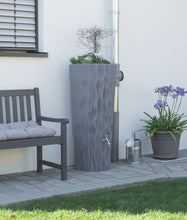 Load image into Gallery viewer, Alana 160 Litre Water Butt with Planter - Granite