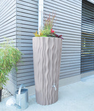 Load image into Gallery viewer, Alana 160 Litre Water Butt with Planter - Taupe