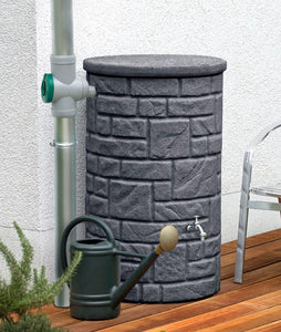 Arcardo Column Waterbutts with Integrated Planter - 230, 360 and 460 Litres