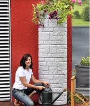 Load image into Gallery viewer, Arcardo Column Waterbutts with Integrated Planter - 230, 360 and 460 Litres