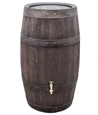 Barrique 250 Litre Oak Barrel Effect Waterbutt