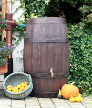 Load image into Gallery viewer, Barrique 250 Litre Oak Barrel Effect Waterbutt