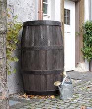 Load image into Gallery viewer, Burgundy 500 Litre Oak Barrel Effect Waterbutt