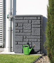 Load image into Gallery viewer, Maurano 300 Litre Stone-Effect Waterbutt - Charcoal