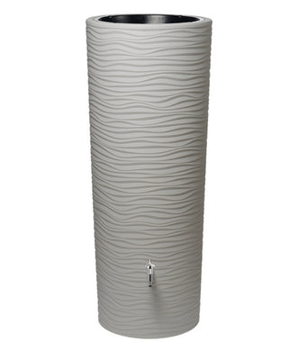 Natura 350 Litre Waterbutt with Integrated Planter - Beach
