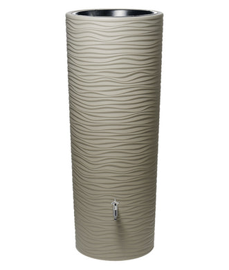 Natura 350 Litre Waterbutt with Integrated Planter - Sahara