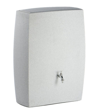 Noblesse 270 Litre Slimline Waterbutt with Integrated Planter - Granite