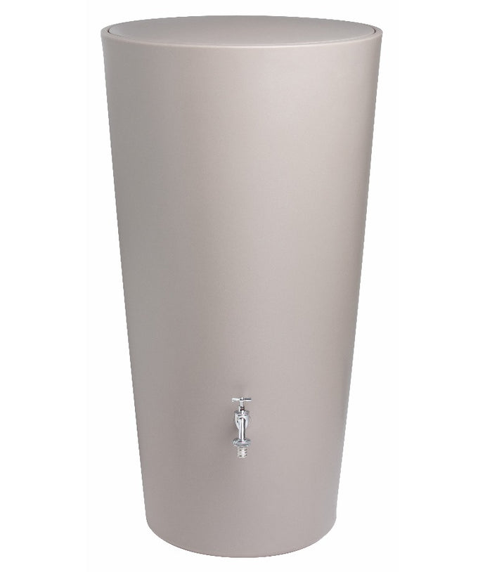 Rainbowl 210 Litre Water Butt - Taupe
