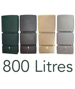 800 Litre Wall Tank - Green