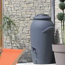 Load image into Gallery viewer, Aquacan 210 Litre Waterbutt with Planter - Dove Grey