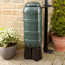 Load image into Gallery viewer, 100 Litre Slimline Mini Rainsaver Kit - includes Stand and Downpipe Connector