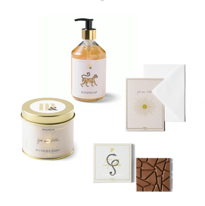 ME&MATS GIFTSET SMALL – YOU ARE GOLDEN