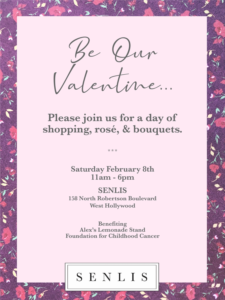 Be our valentine shopping event at robertson