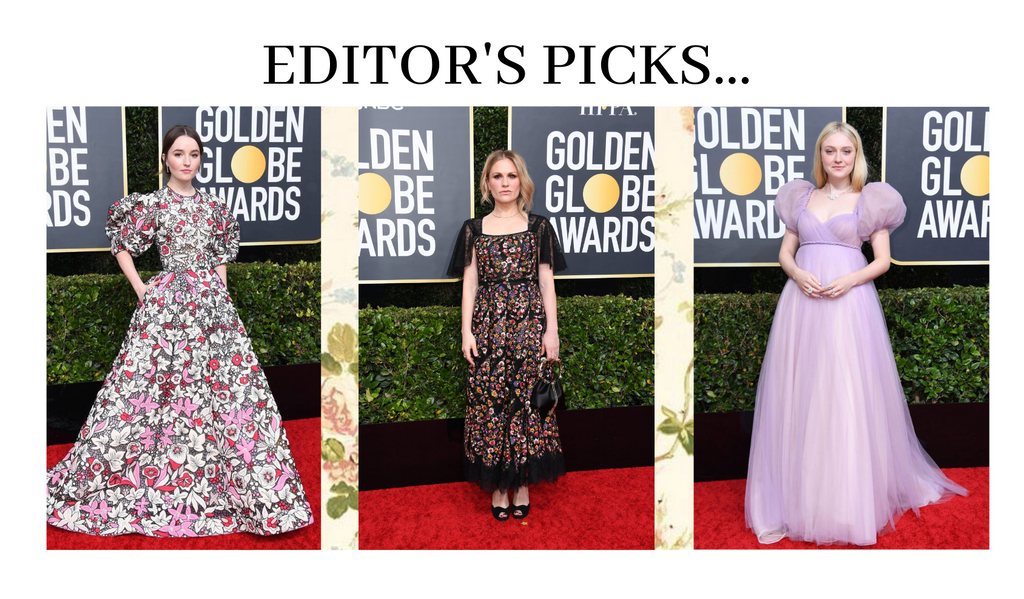 Florals from the red carpet