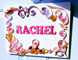 Custom Art - Quilled Name