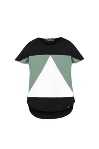 AEQUILATERUS KIDS BLACK-AQUA