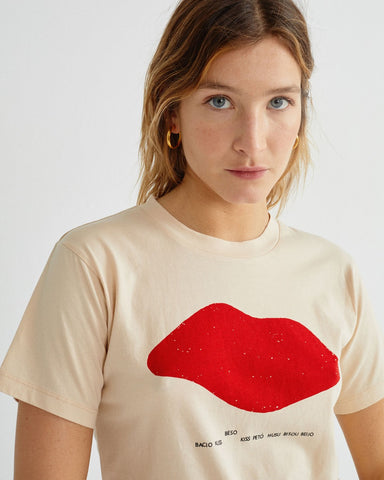 Beso shell tee