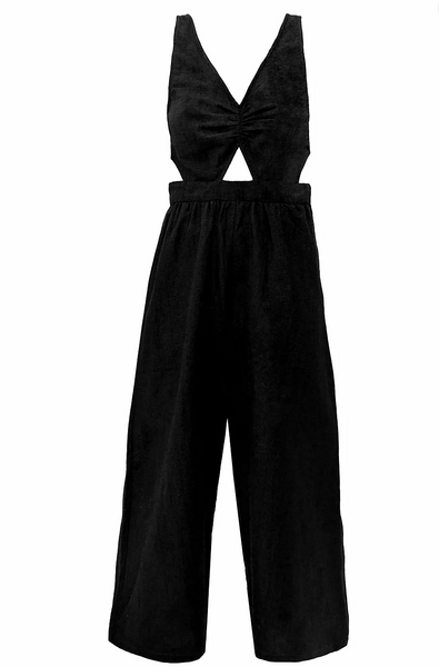 Louise jumpsuit Black