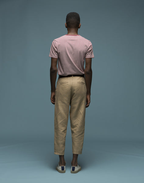 Swing pants camel
