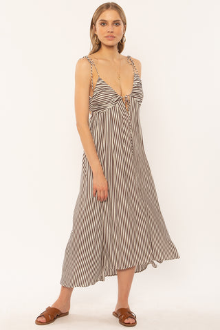 Fern dress Brown