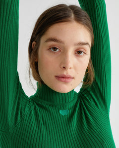 Green Kapo Sweater