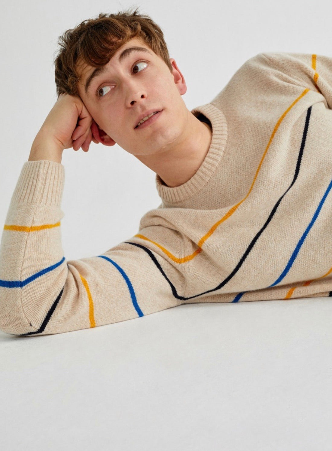 Shell Striped Miki Sweater