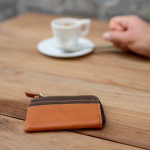 Billy Card Holder Brown