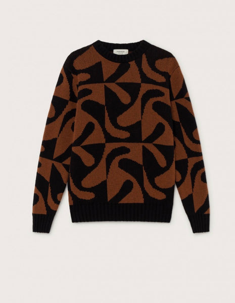 Zabawa Brown Sweater