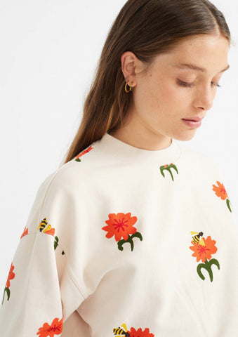 Carnations sweat