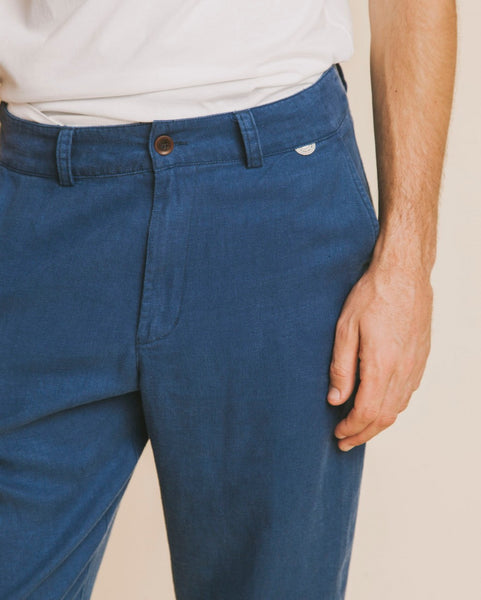 Marcelino pant blue hemp