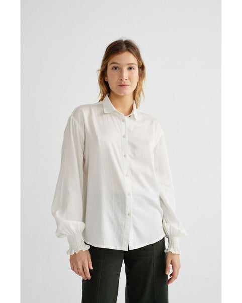 White Ceres blouse