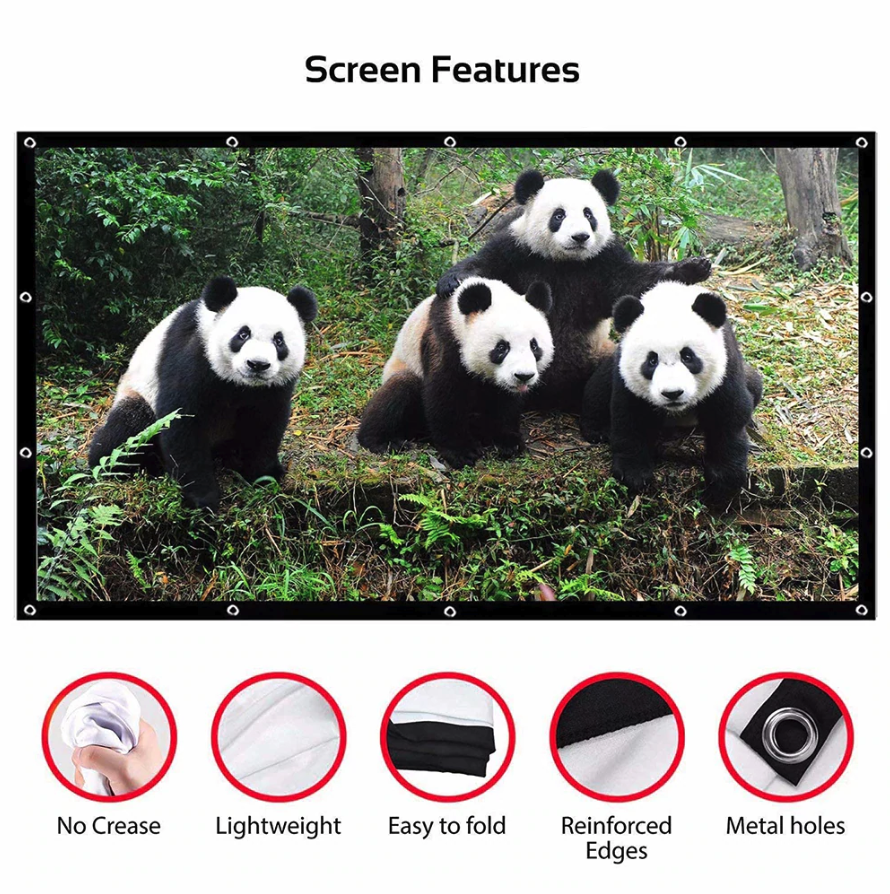 Mini Projector Screen - Cute Projectors