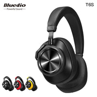 Bluedio T6S Wireless Bluetooth Headphones With Active Noise Cancelling - Epic Sounds