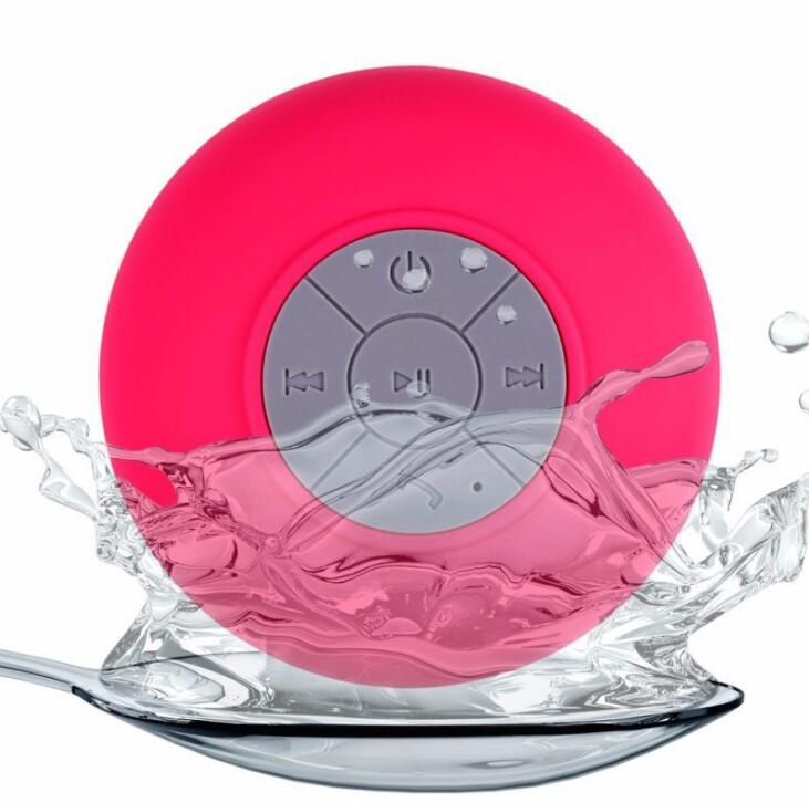 Portable Waterproof Mini Speaker With Suction Cup