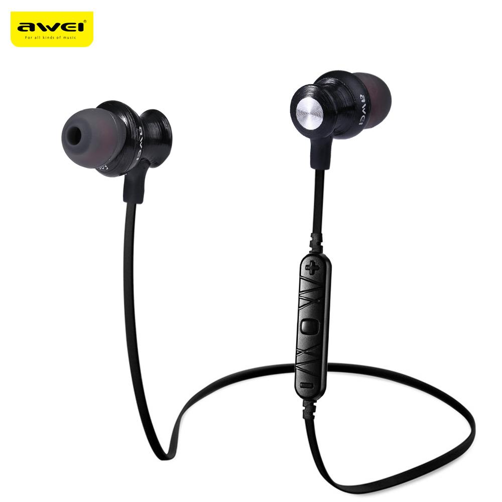 Awei A980BL Sports Wireless Bluetooth  Earphones With Noise Cancellation