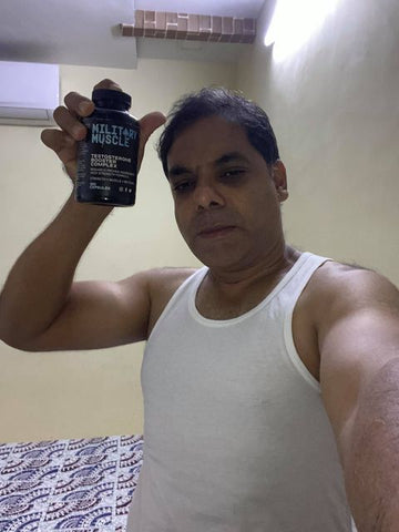 MILITARY MUSCLE CUSTOMER TESTIMONIAL FROM INDIA