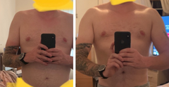 Military Muscle Testosterone Booster before and after