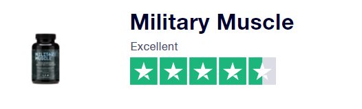 MILITARY MUSCLE EXCELLENT TRUST PILOT RATING