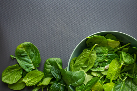 bowl of spinach for testosterone