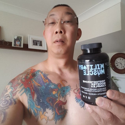 COLIN MILITARY MUSCLE TESTIMONIAL