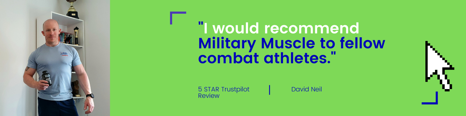 military muscle test booster trustpilot review