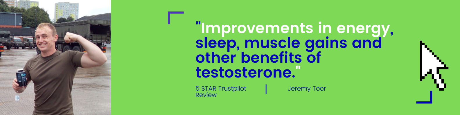 military muscle trustpilot review