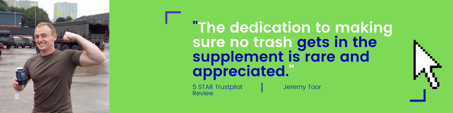 military mucle trustpilot review