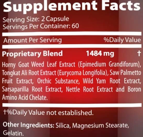 supplement with proprietry blend