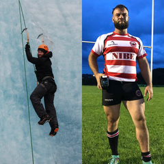 Julian rugby player adventurer military muscle testimonial