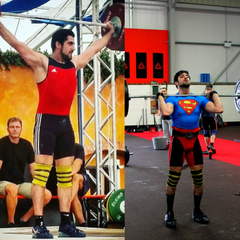 Koroush Olympic Weightlifting Coach military muscle testimonial